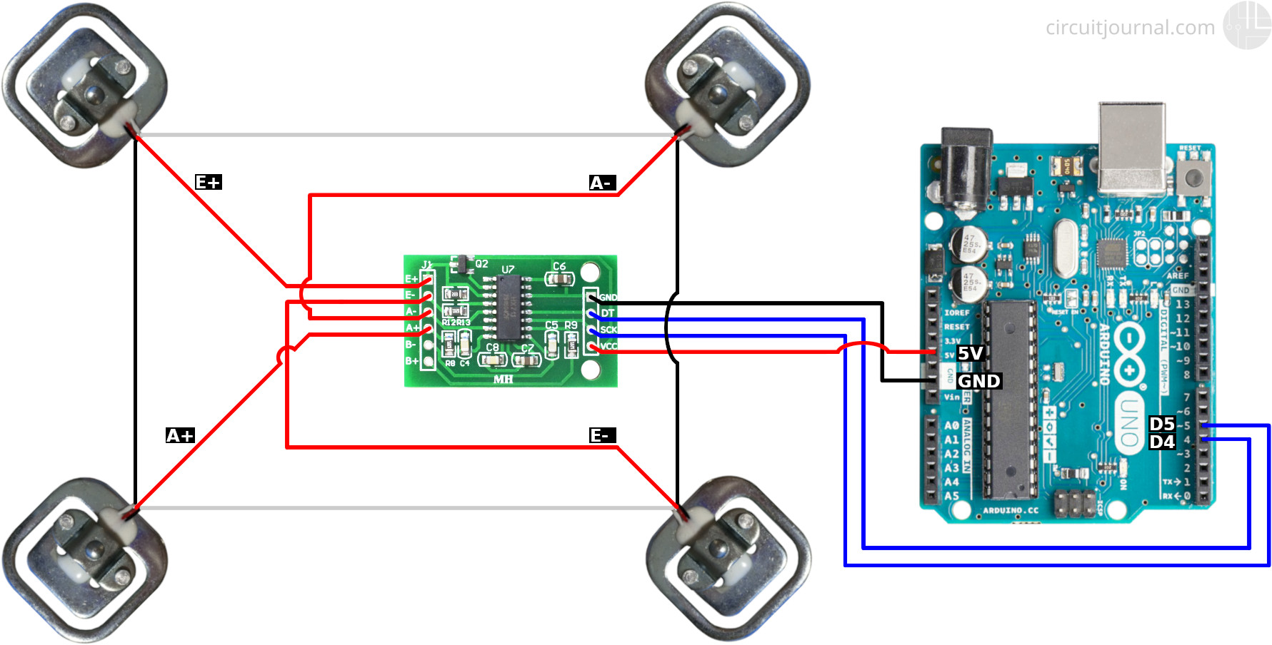 50kg Load Cells With Hx711 And Arduino